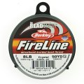 "Fireline Beading Thread 8LB-test 0.007"" Crystal Clear 50 Yards"