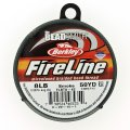 "Fireline Beading Thread 8LB-test 0.007"" Smoke Grey 50 Yards"