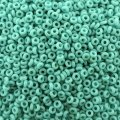 Demi Round Seed Beads Size 11/0 8.2GM Opaque Turquoise
