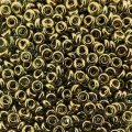 Demi Round Seed Beads Size 8/0 8.5GM Gold Lustered Montana