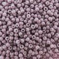 Seed Beads Round Size 11/0 28GM Opaque Luster Pale Mauve