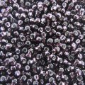 Seed Beads Round Size 11/0 28GM Silver Lined Dark Amethyst
