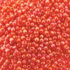 Seed Beads Round Size 11/0 28GM Opaque Rainbow Pumpkin 11-410
