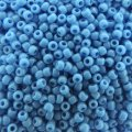 Seed Beads Round Size 11/0 28GM Opaque Cornflower Blue