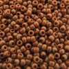 Seed Beads Round Size 11/0 28GM Opaque Terracotta