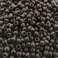 Seed Beads Round Size 11/0 28GM Opaque Dk Chocolate Brown