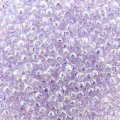 Seed Beads Round Size 11/0 28GM Lavender Mist Rainbow