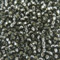 Seed Beads Round Size 11/0 28GM Silver Lined Gray