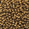 Seed Beads Round Size 11/0 28GM PermaFinish Galvanized Bronze