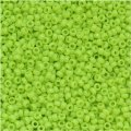 Toho Round Seed Beads Size 15/0 Opaque Sour Apple 8GM