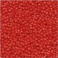 Toho Round Seed Beads Size 15/0 Opaque Cherry 8GM