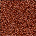 Toho Round Seed Beads Size 15/0 Opaque Terra Cotta 8GM