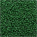 Toho Round Seed Beads Size 15/0 Opaque Pine Green 8GM