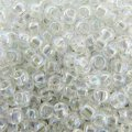 Seed Beads Round Size 8/0 Crystal AB 28GM 8-161