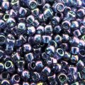 Seed Beads Round Size 8/0 Gold Lustered Moon Shadow 28GM 8-328