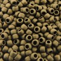 Seed Beads Round Size 8/0 28GM Metallic Frosted Dark Copper