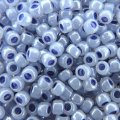 Seed Beads Round Size 8/0 Ceylon Virginia Bluebell 28GM 8-921