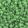 Seed Beads Round Size 8/0 28GM Hybrid Milky - Greenery