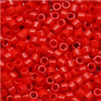 DB723 Miyuki Delica Seed Beads 11/0 Opaque Red 7.2G