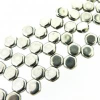 Czech Glass Honeycomb Beads 2-Hole 6mm 30 Pcs Full Labrador