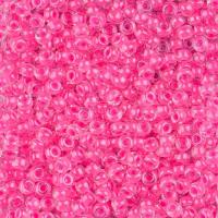 Miyuki Round Seed Beads Size 8/0 Luminous Wild Strawberry 22G