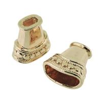 Beadcap Cone Rose Gold 16x8mm, hole 3x6mm.  Pack of 10