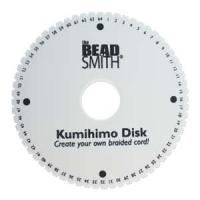 "Kumihimo Double Density Braiding Disk Round 6"" - 64 Slot"