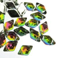 GemDUO 2-Hole beads 8x5mm 10GM - Backlit Utopia