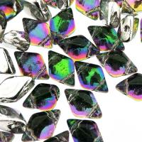 GemDUO 2-Hole beads 8x5mm 10GM - Backlit Spectrum