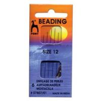 PONY Beading Needles #12 6 Needles/pack