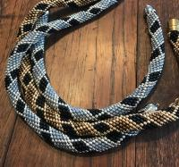 Snakeskin Peyote with a twist (Peytwist) Pattern