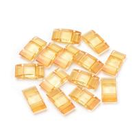 Carrier Beads - Bead base for Peyote, 17x9mm 20pcs Goldenrod