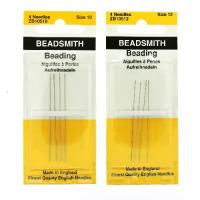 BeadSmith English Beading Needles #10 & #12 8-needles