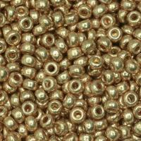 Miyuki Round Seed Beads Size 11/0 Duracoat Glvnzd Chmpge 23.5GM