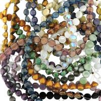 10 Strand Value Pack Czech Glass Tipp 2-Hole 8mm Beads Assortmnt
