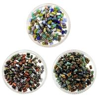 3 Mixes Czech Rulla Beads 3x5mm Metallics, Opq & Picasso Mix 24G