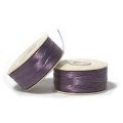 NYMO Nylon Beading Thread Size D for Delica Beads Lt Purple 64YD