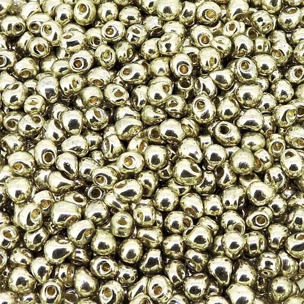 451 10 g Gunmetal Grey Miyuki Magatama Drop Beads 4 x 5 mm 1.5 mm Trou