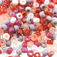 Miyuki Round Seed Beads 6/0 Strawberry Fields Mix 20GM