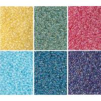 Miyuki Round Seed Beads Size 11/0 Color Lined Crystal AB Combo