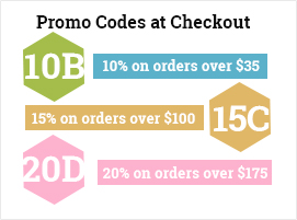 promo codes at checkout